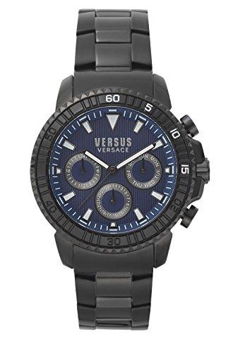 Versus Versace Orologio Cronografo Quarzo Uomo con Cinturino in Acciaio Inox S30090017