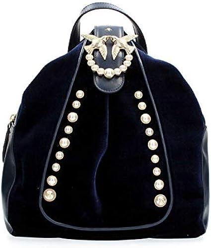 RosaO Damen Battistelli Backpack Velluto+perle Rucksack, 15x33x28 centimeters
