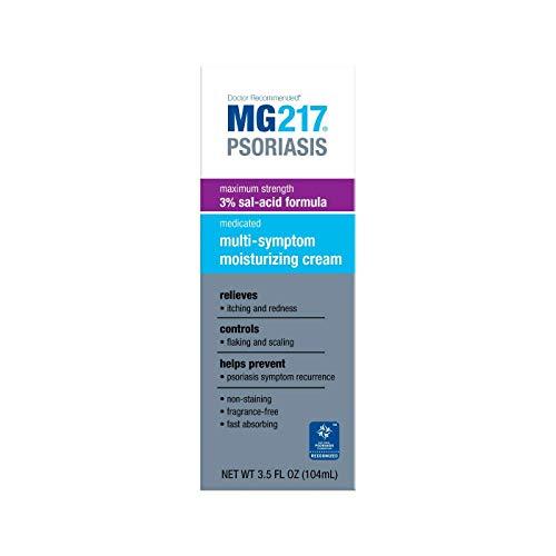 MG217 Psoriasis Medicated Multi-Symptom Cream 3.5 oz (Pack of 2)