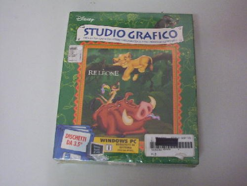 Floppy Il Re Leone Studio Grafico - Cd-Rom