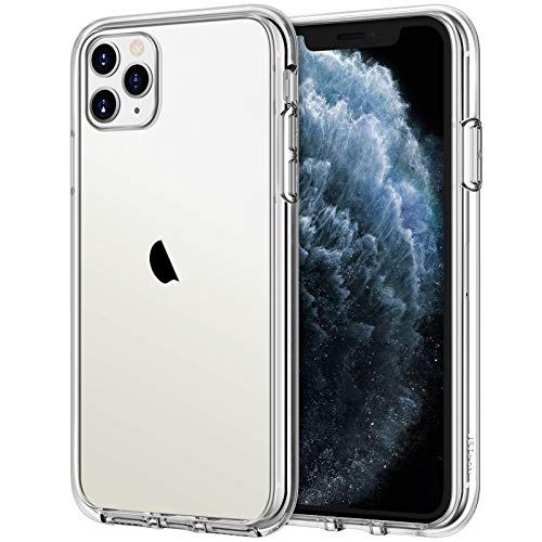 JETech Funda Compatible iPhone 11 Pro MAX (2019) 6,5', Carcasa Anti-Choques y Anti- Arañazos, Transparente