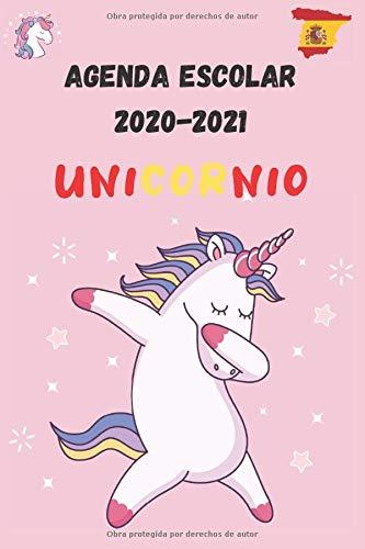 AGENDA ESCOLAR 2020-2021 UNICORNIO: PLANIFICADOR para estudiantes y profesionales de escuelas secundarias universitarias para planificar un año exitoso