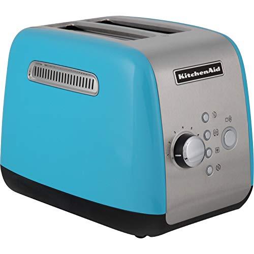 KitchenAid 5KMT221EECL Toaster, 1100 Watt, cristallblau