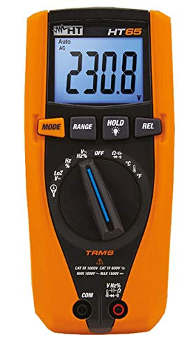 HT Instruments HT65 TRMS DMM for DC Voltage Measurements up to 1.5kV
