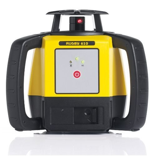 Leica Geosystems Rugby 610, Rotary Laser, Self Levelling, Horizontal, Yellow/Black 6008610 by Leica Geosystems