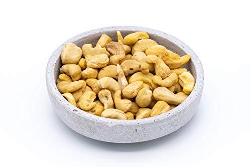 Noix de cajou biologiques entières – 1kg – naturelles et cueillies à la main – crues – végétaliennes