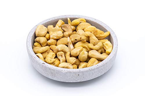 Anacardos orgánicos enteros - naturales y seleccionados a mano - crudos - vegano - 1 kg