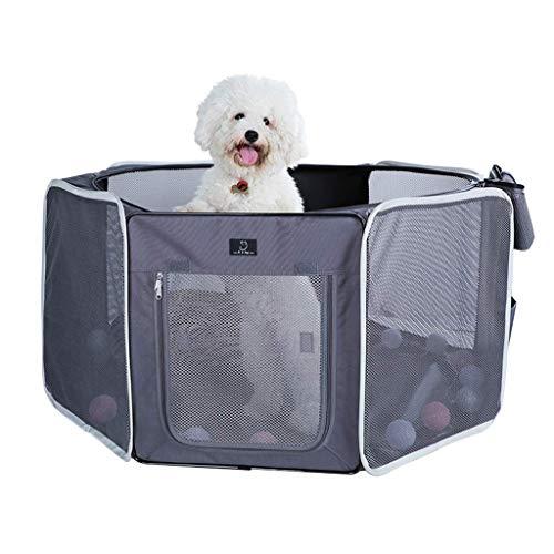 Equipo de campamento Tienda para mascotas Sala de entrega de mascotas pequeñas y medianas Invierno Cálido Arena para gatos Sala de entrega para gatos cerrada Valla para mascotas plegable al aire li