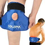 Reusable Gel Ice Packs Hot or Cold Packs Knee Wrap & Back Ice Pack, 2 Pack, Great for Surgery & Back Pain