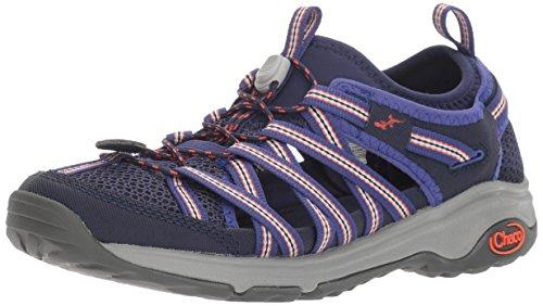 Chaco Women's Outcross EVO 1 Hiking Shoe, Blue, 7 M US