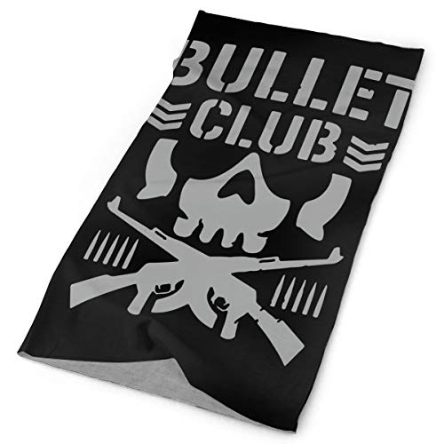 TPSXXY Bullet Club Face Mask Neck Gaiter Sun Shade Bandanas for Dust Outdoors Sports Festivals
