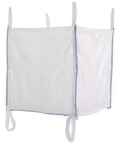 10 St. Big Bag 90x90x90 cm mit 6 Schlaufen, 5000 KG Bruchlast DIN EN ISO 21898