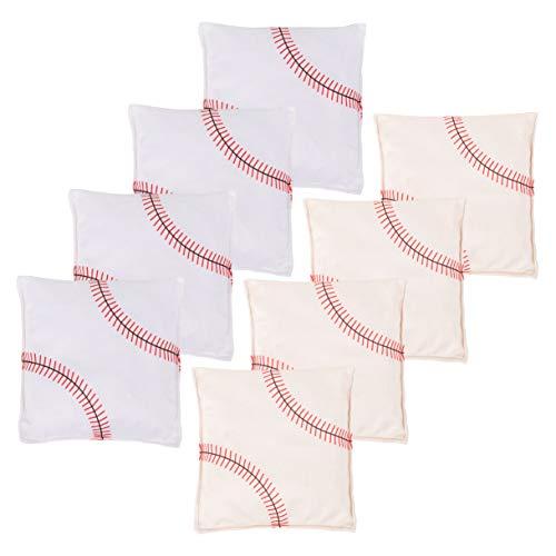 SPORT BEATS Cornhole Bags All Weather Cornhole Bean Bags Set of 8 for Cornhole Toss Games-Regulation...