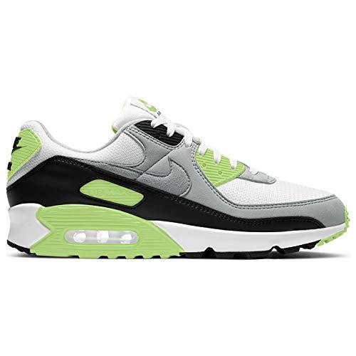 Nike Herren Air Max 90 Schuhe, (Grau /Grün), 39 EU