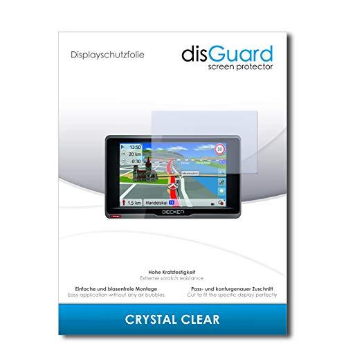 disGuard Displayschutzfolie für Becker Ready.5 CE [3 Stück] Crystal Clear, Kristall-klar, Unsichtbar, Extrem Kratzfest - Displayschutz, Schutzfolie, Glasfolie, Panzerfolie