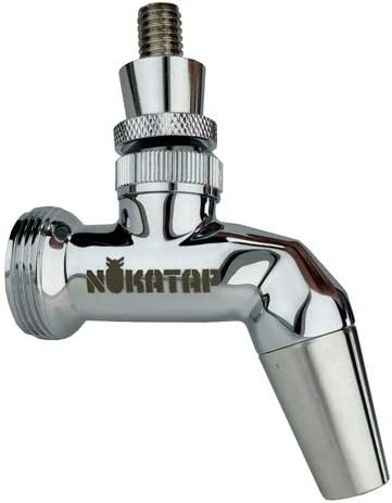 Ranking TOP9 Nukatap SS Forward Sealing New arrival Beer Faucet Stainless Chrome Plated