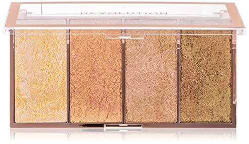 Makeup Revolution Vintage Lace Intense Metallic Cream-Powder Highlighter
