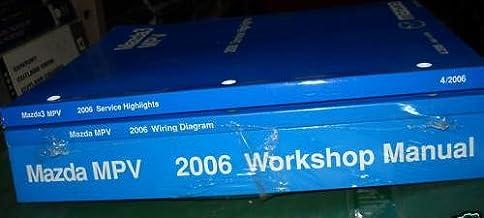 Amazon Com Mazda Mpv Repair Manual