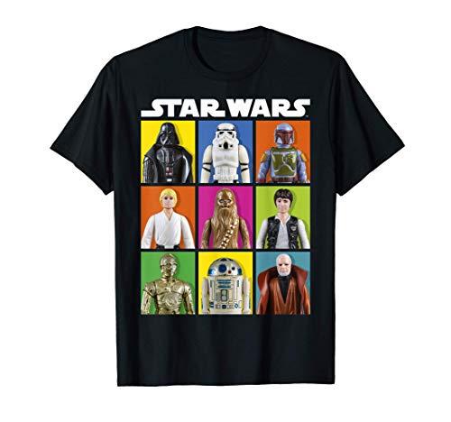 Star Wars Group Shot Toy Box Panels T-Shirt