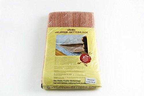Vitalis Kupfer-Betteinlage