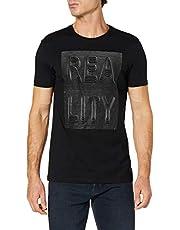 DeFacto 3 Boyutlu Yazı Baskılı T-shirt Erkek T-Shirt