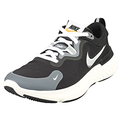 Nike React Miler Prm, Scarpe da Corsa Uomo, Black/Mtlc Silver-Dk Grey-White-Sail, 41 EU
