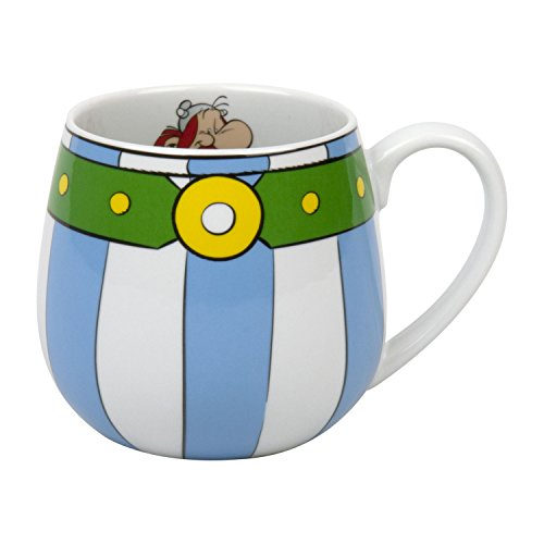 Könitz 1111432053 Kaffeebecher, Porzellan, Mehrfarbig, 13.2 x 8.2 x 9 cm