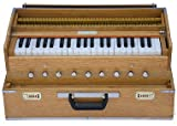 """BRIGHT NICKELED BRASS KNOBS 3 1/2 OCTAVES, TOTAL 42 KEYS COUPLER FUNCTION - FOR EVEN RICHER SOUND AIR LEAKS ARE CHECKED FOR LONGER SUSTAIN SET OF 2 HIGH QUALITY """"SG Musical"""" REEDS: 1 BASE + 1 MALE = RICH SOUND"""