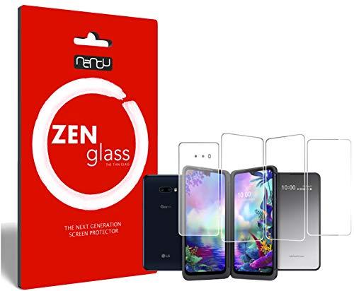 ZenGlass (2 Stück Flexible Glas-Folie kompatibel mit LG G8X ThinQ Dual Screen Panzerfolie I Bildschirm-Schutzfolie 9H