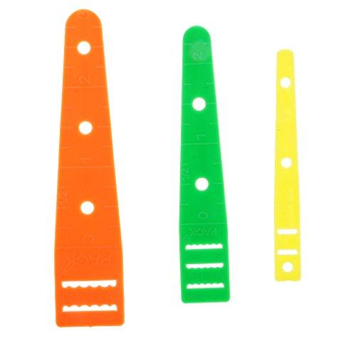 Hellery Verschiedene 3 Größen Einfädler Zum Einfädeln Von Gummibändern Und Bändern