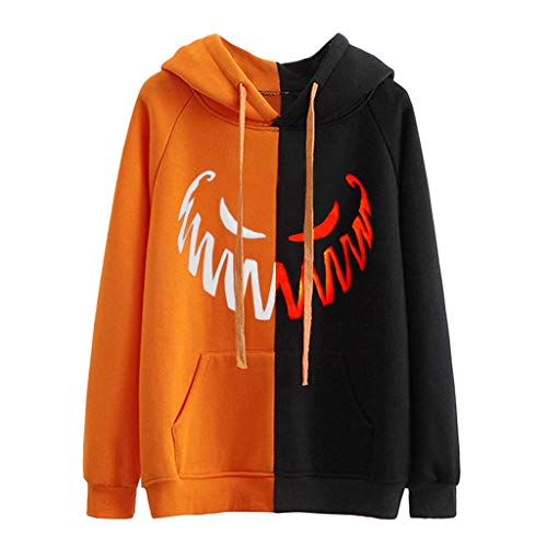 Lowest Prices! NANTE Top Halloween Women's Blouse Hooded Long Sleeve Pullovers Sweatshirts Womens To...