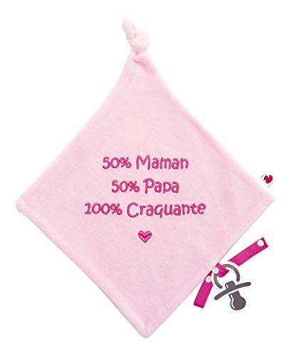 Bb&Co 100% Craquante Doudou Velours Brodé