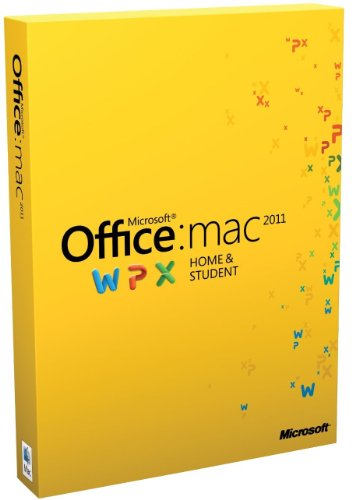 Office for Mac Home and Student Edition 2011 (1 User, 1Mac) [import anglais]