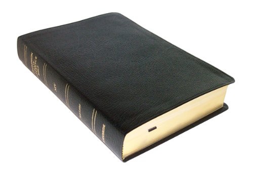 Thompson Chain Reference Bible (Style 809black) - Regular Size NIV - Bonded Leather