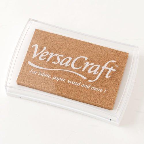 スタンプ用インクバーサクラフト(VersaCraft)サンド (19942-154)布用・顔料系水性インクこどものかおStamp ink