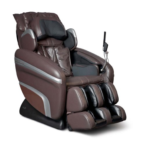 Osaki OS6000B Model OS-6000 Deluxe Massage Chair, Brown, Zero Gravity, 3D Massage Technology, Computer Body Scan, Arm and Hand Massage, MP3 & iPod Connection with Built in Speakers
