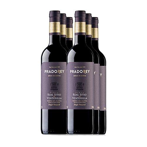 PRADOREY Finca Real Sitio De Ventosilla Vino tinto-Gran Reserva-Elaborado sólo en añadas excepcionales, 1999, 2004 y 2009-6 Bot-0,75 L