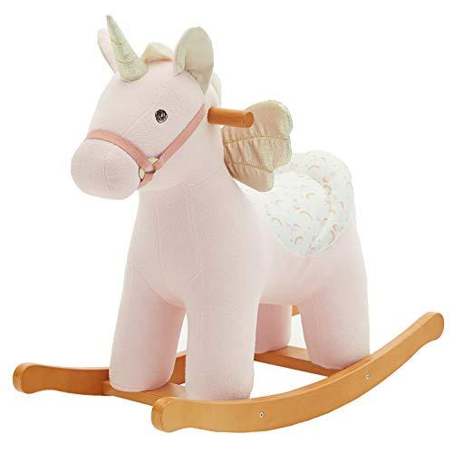 Labebe Child Rocking Horse de Peluche,...