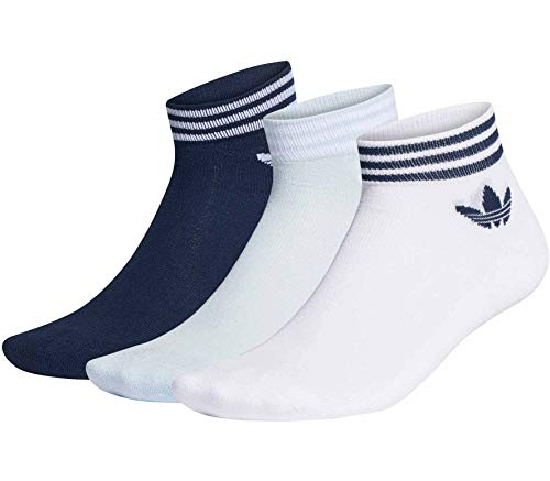 adidas Originals Trefoil Ankle 3 Pair Pack Socken 43-46