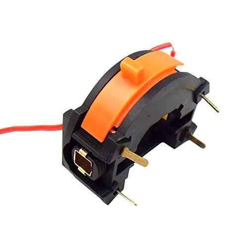 Interruptor de encendido y apagado de velocidad variable para herramienta giratoria Dremel de housesweet, negro