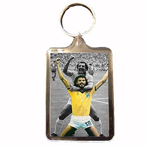 B Gifts World Football Icons - Keyring (Socrates)