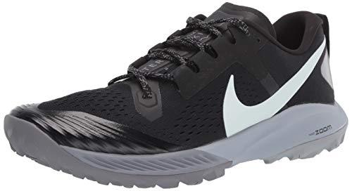 Nike Air Zoom Terra Kiger 5 Men's Running Shoe (12, Black/Barely Grey-Gunsmoke)