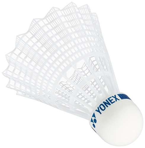 Yonex M-40P Badminton Shuttlecock, Maebis 40P (Nylon + Synthetic Cork), Set of 6, MIDDLE (Appropriate Temperature 36.2 - 68.0 °F (12 - 23 °C)