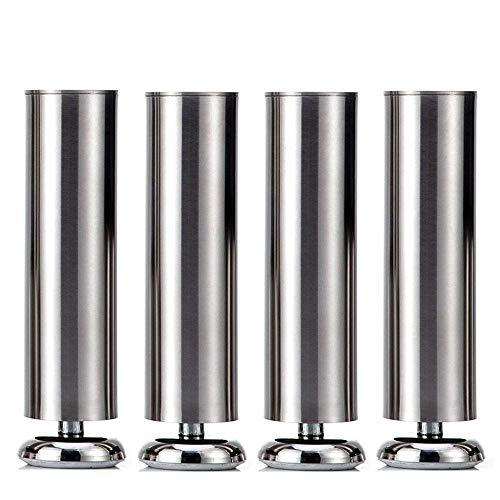 4 x Schrank Beine Küche Füße Arbeitsplatte / Einheit / Frühstück Bar / Schreibtisch Tischbeine...