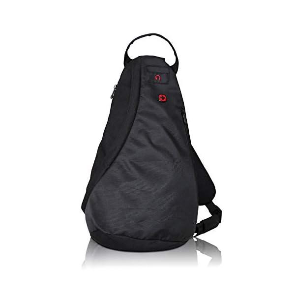 41PN3s4xXeL. SS600  - Wenger Premium Cross Body Bag - Bolso deportivo para hombre y mujer, bolsa de deporte, bolsa de hombro para esquí…