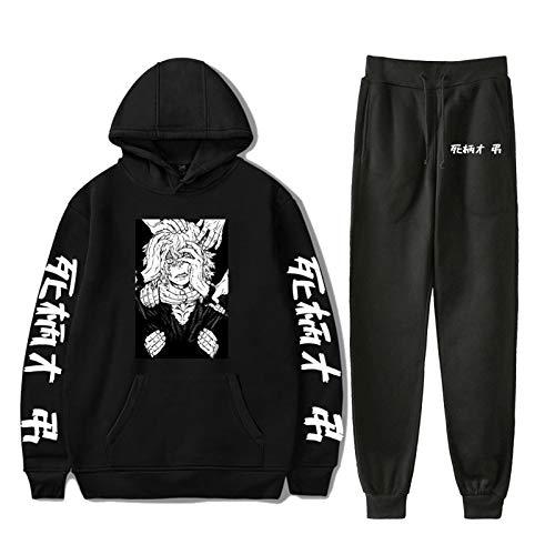 Nuevo Shigaraki Tomura (Pantalones + Sudadera Con Capucha) Conjunto De 2 Piezas Unisex Mujeres Y Hombres Cosplay My Hero Academia Monos Casuales Ropa Deportiva Jersey De Manga Larga Sudadera