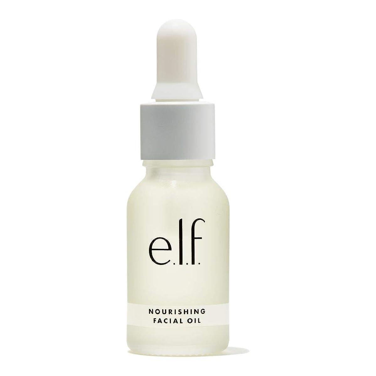 筋シロナガスクジラ適合(3 Pack) e.l.f. Nourishing Facial Oil (並行輸入品)