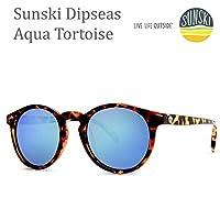 sunski サンスキー サングラス Dipseas Tortoise Aqua-Polarized SUN-DS-TAQ sunski サングラス 偏光サングラス【K1】