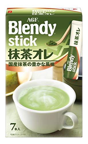 AGF ブレンディ スティック 抹茶オレ 7本×6箱 【 粉末 抹茶 】