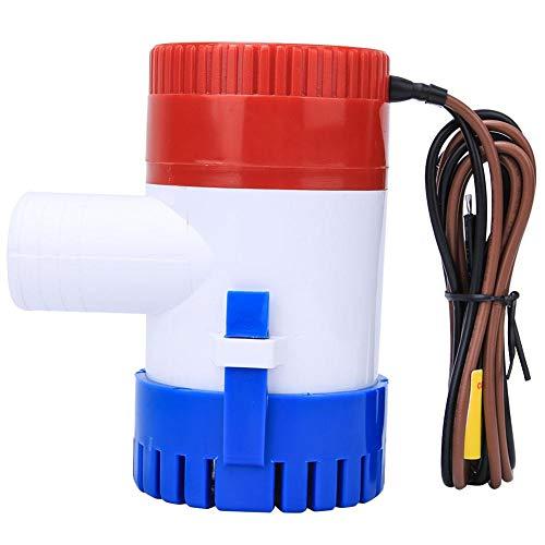 Dompelpomp voor bilgenwater, 12 V, 1100 GP/H, elektrische pomp, voor caravans, camping, visboot, maritima, kleine zwembaden en fontein